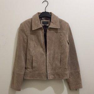 Mantles Suede jacket (sz 6p)